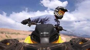 Can-Am TV Spot, \'Go for a Ride\'