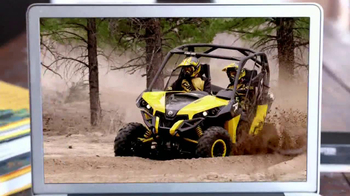 Can-Am TV Spot, 'Go for a Ride' - Thumbnail 4