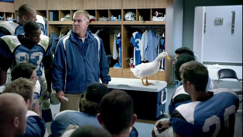 Aflac TV Commercial, 'Halftime Pep Talk'