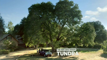 2014 Toyota Tundra TV Spot, 'Tree House' - Thumbnail 10