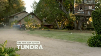 2014 Toyota Tundra TV Spot, 'Tree House' - Thumbnail 3