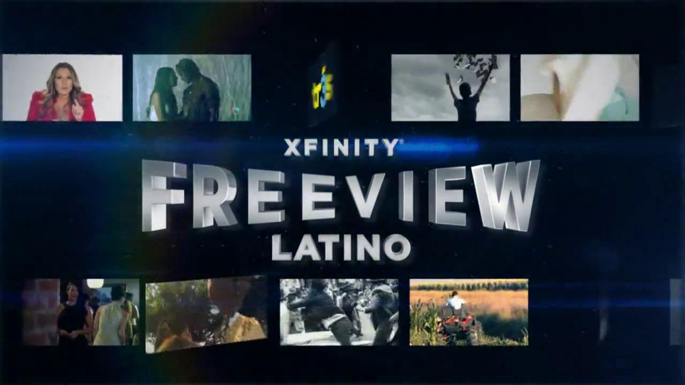XFINITY Free View Latino TV Commercial, 'Get Your Free Pass' - Video