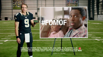 Verizon NFL Mobile TV Spot, 'Princess Show' Featuring Drew Brees - Thumbnail 8