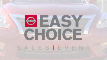 Nissan Easy Choice Sales Event TV Spot