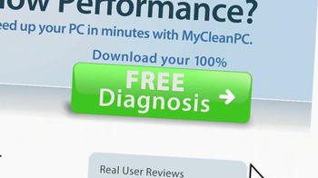 My Clean PC Free Diagnosis TV Spot - 903 commercial airings