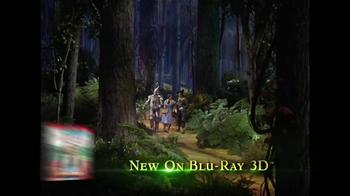 The Wizard of Oz 3D Blu-ray and DVD TV Spot - Thumbnail 1