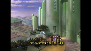 The Wizard of Oz 3D Blu-ray and DVD TV Spot - Thumbnail 6