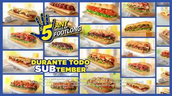 Subway SUBtember TV Spot Con Robert Griffin III [Spanish] - Thumbnail 7