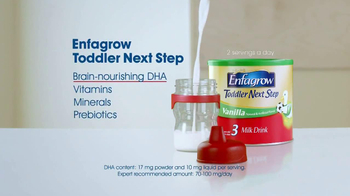 Enfamil Enfagrow Toddler Next Step TV Spot, 'Missing Piece of Nutrition' - Thumbnail 7
