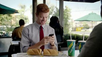 Subway Tuscan Chicken Melt TV Spot, 'Hashtag' - 1326 commercial airings