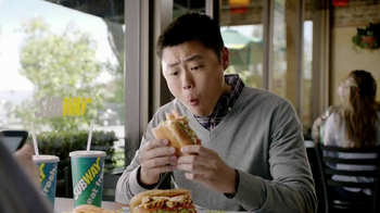 Subway Tuscan Chicken Melt TV Spot, 'Hashtag' - Thumbnail 2