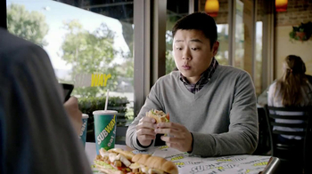 Subway Tuscan Chicken Melt TV Spot, 'Hashtag' - Thumbnail 4