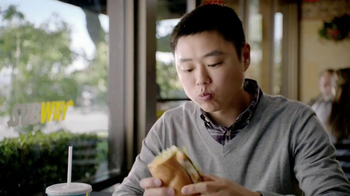 Subway Tuscan Chicken Melt TV Spot, 'Hashtag' - Thumbnail 6