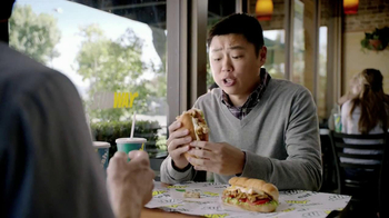 Subway Tuscan Chicken Melt TV Spot, 'Hashtag' - Thumbnail 7