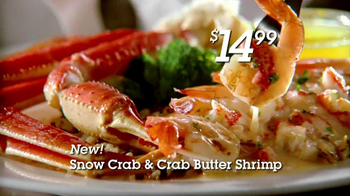 Red Lobster Crabfest TV Spot, 'Alaskan Crab' - Thumbnail 6