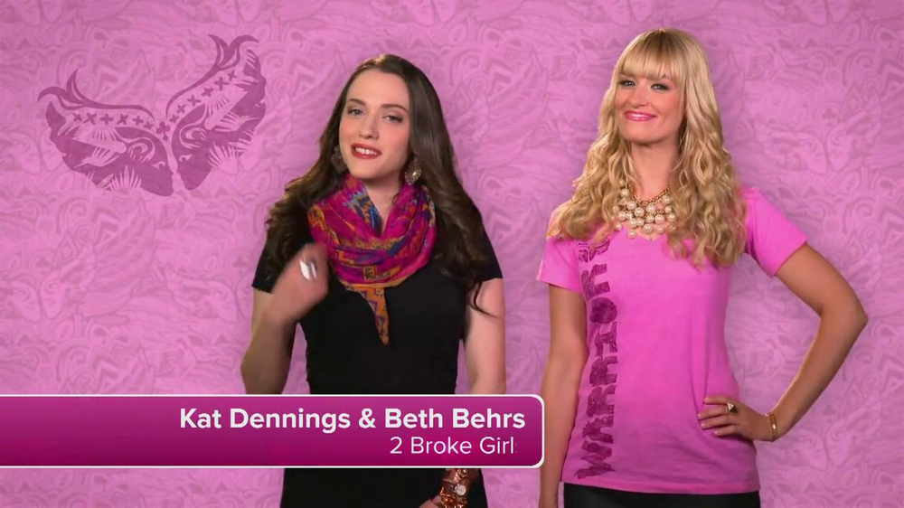 Ford Warriors in Pink TV Commercial Featuring Kat Dennings and Beth Behrs