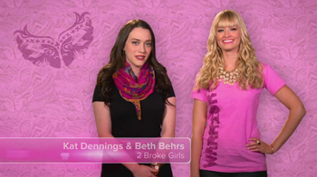 Ford Warriors in Pink TV Spot Featuring Kat Dennings and Beth Behrs - Thumbnail 3