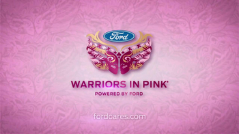 Ford Warriors in Pink TV Spot Featuring Kat Dennings and Beth Behrs - Thumbnail 5