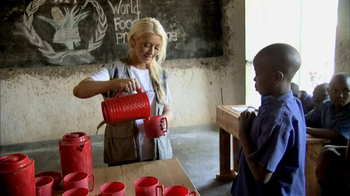 World Food Programme TV Spot Featuring Christina Aguilera
