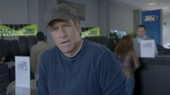 Ford Big Tire Event TV Spot, 'Q&A' Featuring Mike Rowe - Thumbnail 1