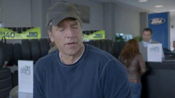 Ford Big Tire Event TV Spot, 'Q&A' Featuring Mike Rowe - Thumbnail 2