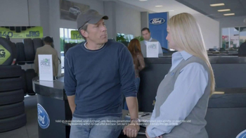Ford Big Tire Event TV Spot, 'Q&A' Featuring Mike Rowe - Thumbnail 5