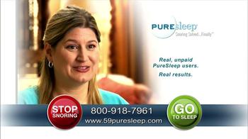 PureSleep TV Spot, 'Stay Asleep' - Thumbnail 2