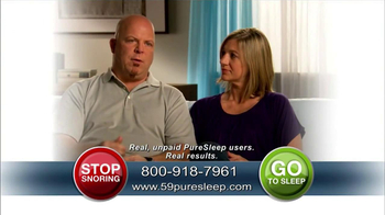 PureSleep TV Spot, 'Stay Asleep' - Thumbnail 6