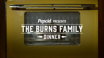 Pepcid TV Spot, 'The Burns Family Dinner' - 481 commercial airings
