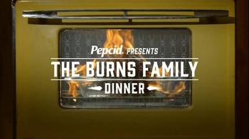 Pepcid TV Spot, 'The Burns Family Dinner' - Thumbnail 2