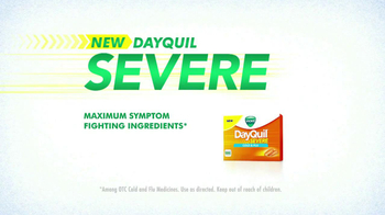 Vicks Dayquil Severe TV Spot - Thumbnail 8