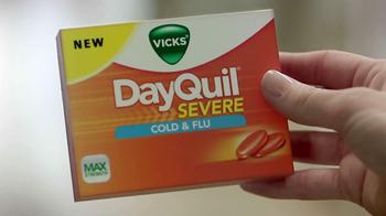 Vicks Dayquil Severe TV Spot - Thumbnail 3