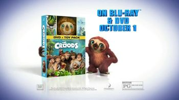 The Croods Blu-ray, DVD Toy Pack TV Spot