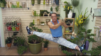 Go Daddy TV Spot, 'The Florist' Featuring Jean-Claude Van Damme - 219 commercial airings