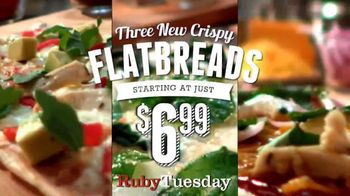 Ruby Tuesday Flatbreads TV Spot - 3971 commercial airings