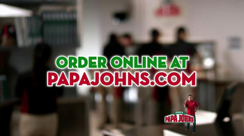 Papa John's Mega Chocolate Chip Cookie TV Spot - Thumbnail 10