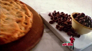 Papa John's Mega Chocolate Chip Cookie TV Spot - Thumbnail 2