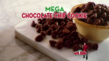 Papa John's Mega Chocolate Chip Cookie TV Spot - Thumbnail 3