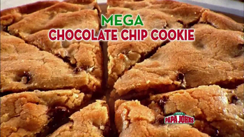 Papa John's Mega Chocolate Chip Cookie TV Spot - Thumbnail 4