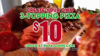 Papa John's Mega Chocolate Chip Cookie TV Spot - Thumbnail 7