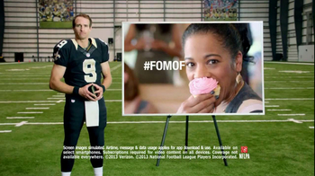 NFL Mobile TV Spot, 'Baby Shower' Featuring Drew Brees - Thumbnail 8