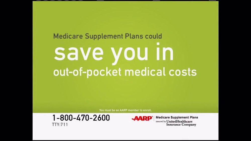 Aarp Health Insurance >> UnitedHealthcare AARP Medicare Supplement Plans TV ...