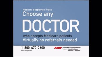 UnitedHealthcare AARP Medicare Supplement Plans TV Spot, 'Prepare' - 10412 commercial airings