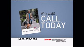 UnitedHealthcare AARP Medicare Supplement Plans TV Spot, 'Prepare' - Thumbnail 4