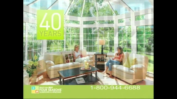 Four Seasons Sunrooms Spectacular Sales Event TV Spot - Thumbnail 3