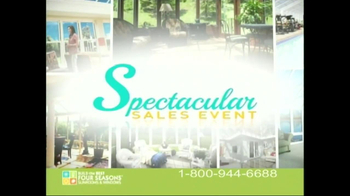 Four Seasons Sunrooms Spectacular Sales Event TV Spot - Thumbnail 6