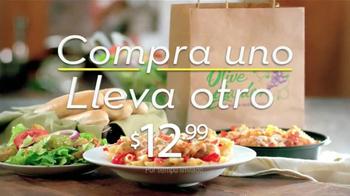 Olive Garden Compra Uno, Lleva Otro TV Spot, 'Cinco opciones' [Spanish] - Thumbnail 8