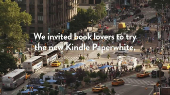 Amazon Kindle Paperwhite TV Spot, 'Real People, Genuine Reactions' - Thumbnail 3