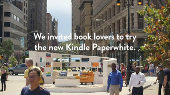 Amazon Kindle Paperwhite TV Spot, 'Real People, Genuine Reactions' - Thumbnail 4