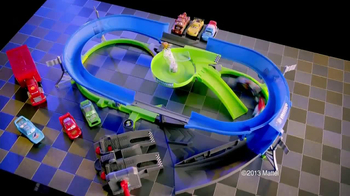 Disney Pixar Cars Stunt Racers Double Decker Speedway TV Spot